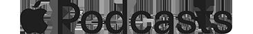 Apple Podcasts Logo on transparent background