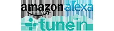Amazon Alexa Tune In Logo on transparent background