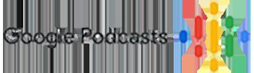 Google Podcasts on transparent background